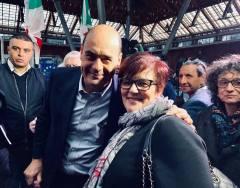 con Zingaretti